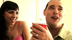 Lei and Frankie swap husbands for the sexy feeling of a new dick to fuck