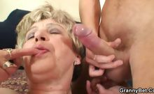 Granny box fucked with big cock